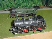Marklin  Trix Steam Locomotives for parts or repair HO - AS IS