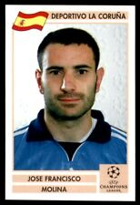 Panini Champions League 2000/2001 (Finale) – Molina Deportivo No.47