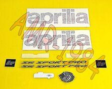 SERIE ADESIVI DECALCO APRILIA SR H2O DITECH CARBURATORE 00/04  AP8267879