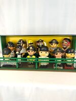 Pittsburgh Pirates Custom Bobblehead Dugout Display Stand, 2 Levels, Brand New