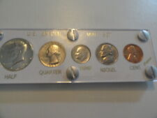 1966 U.S. Mint Silver Special Mint Set - 5 Proof-like Coins in Capital Holder