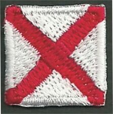 International Maritime Nautical Signal Flag Letter V Victor Embroidery Patch