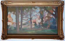 Paysage Peinture de Joseph BERGES (1878-1956) vers 1910