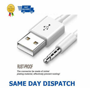 USB Charger Data Sync Cable lead  3rd 4th 5th 6th 7th Gen iPod shuffle