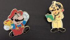 Lot de Deux Pins Nintendo - Mario