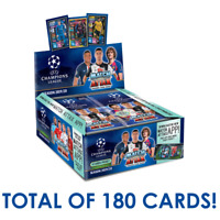2019-20 TOPPS MATCH ATTAX CHAMPIONS LEAGUE BOX 30 PACKS 180 CARDS TOTAL IN STOCK