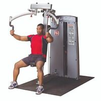Body-Solid Pec Deck Machine, Pro Club Line, Body Solid, 200lb stack DPEC-SF