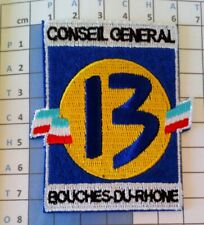 France Patch Badge maillot OM 1998/1999 foot Conseil Général 13