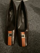 Banana Republic Leather Pumps Made In Spain 8M