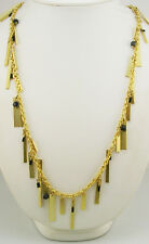 Metro Brass Bar Necklace