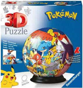 Pokemon 3D Puzzle Ball von Ravensburger 11785 NEU+OVP