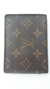 【RankB】Louis Vuitton Monogram Card Case Pass Case From Japan 6