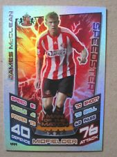 Match Attax 2012/13 - MOTM card - James McClean of Sunderland