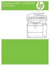 HP LaserJet M3027/ M3035 MFP Series Service Manual (Contains Parts + Diagrams)