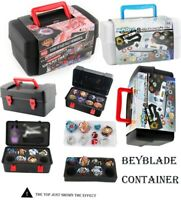 Portable Container Box 8 In 1 Carrying Case For Beyblade Burst Spinning Top