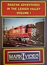 Mark I Video -RAILFAN ADVENTURES IN THE LEHIGH VALLEY - VOL. 1 - DVD