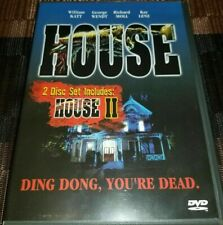 House & House II -Anchor Bay -DVD-Limited Edition 2-Disc Set-w/Inserts-Region 1
