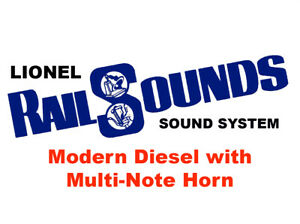 Lionel Modern Diesel RailSounds Sound System -- Multi-Note Horn