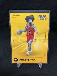 Chicago Bulls Coby White 2019-20 Panini NBA HOOPS Arriving Now #16 H08