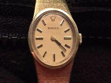 Vintage Rolex 14k Gold ladies Cocktail Watch Excellent Condition Serviced