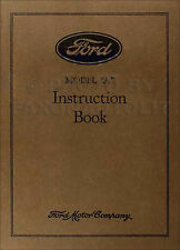 1928 Ford Model a and AA Owners Manual 28 Car and Truck Instruction Guide Book