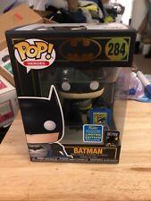 Funko Pop! DC Batman With Comic-Con Tote Bag Exlcusive + POP Protector SDCC 2019