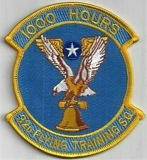 USAF 32nd  FLYING TRAINING SQ PATCH     '1000 HOURS'                  FULL COLOR