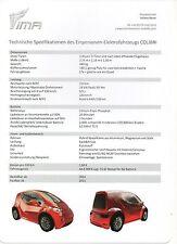 IMA Colibri (made in Germany)__2013 Prospekt / Brochure