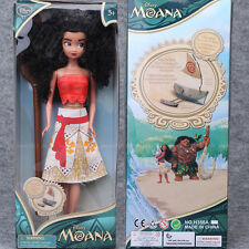 33cm Disney Moana Princess Adventure PVC Collection Action Figure Doll Toy Gifts