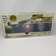Star Trek: The Next Generation Interactive VCR Board Game A Klingon Challenge