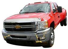 Auto Ventshade 622030 Aeroskin Flush Mount Chrome Hood Protector for 2011-2014 Chevrolet Silverado 2500HD 3500HD