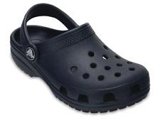 Sandalo Crocs Classic uomo donna blu in gomma con fori e cinturino mate estate