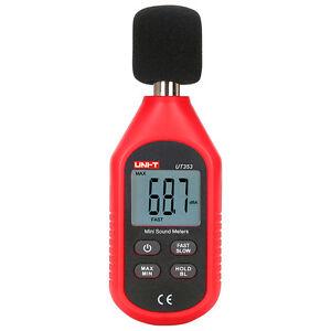 Mini Sound Level Meter Noise Tester 30-130dB Data Hold Fast & Slow Sampling