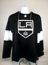 Adidas NHL Los Angeles Kings Hockey Jersey Pullover Hoodie Black Mens Sz S