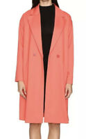 Boutique Moschino Coral Double Breasted Peacoat  Size 44 US 10 L1102