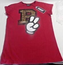 Panuu Burgundy Peace T-Shirt Size M NWT