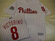 207 Philadelphia Phillies SHANE VICTORINO 2008 World Series Sewn Baseball Jersey