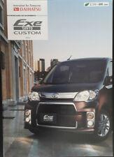 Daihatsu Exe Tanto Custom 660cc Brochure