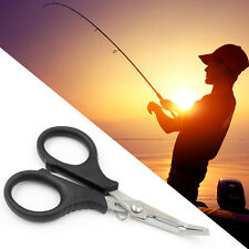 Fishing Scissors Pliers Wire Line Cutter Remove Hook Tackle Stainless Tool Kit