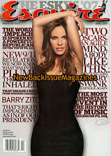 Esquire 4/07,Hilary Swank,April 2007,NEW