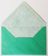 60 Jade Green Pearlised Envelopes 9cm x 14cm EB219