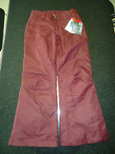 THE NORTH FACE SALLY PANT WOMENS SMALL (S) / SHORT DEEP GARNET RED SRP - $99