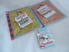 Where's Wally Now? & The Fantastic Journey + Jumbo Memory Cards - Handford