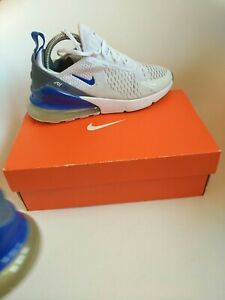 Nike air max 270  Trainers Size 5.5 originals  white blue royal