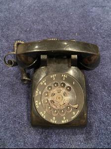 Vintage Western Electric Black Rotary Phone
