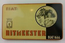 Fiat Ritmeester Buat 1666 Cigar Tin Musketeer Graphic Vintage