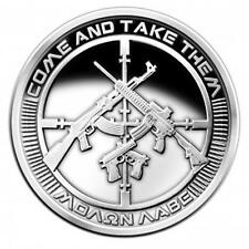 2017 SILVER SHIELD 5 oz AG-47 COME & TAKE THEM PROOF 175 MINTAGE 2nd Amendment