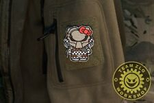 tactics Predator Hello Kitty embroidery morale patch