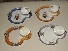 Vintage Noritake Lusterware Tea Set Cup & snack plates - Morimura Japan