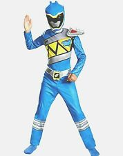 Power Rangers Dino Charge Blue Ranger Costume Size 4-6 Standard New Small